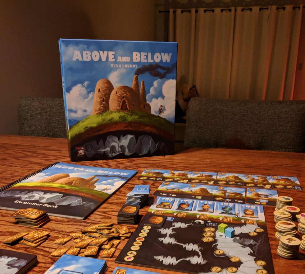 Image result for board game above and below