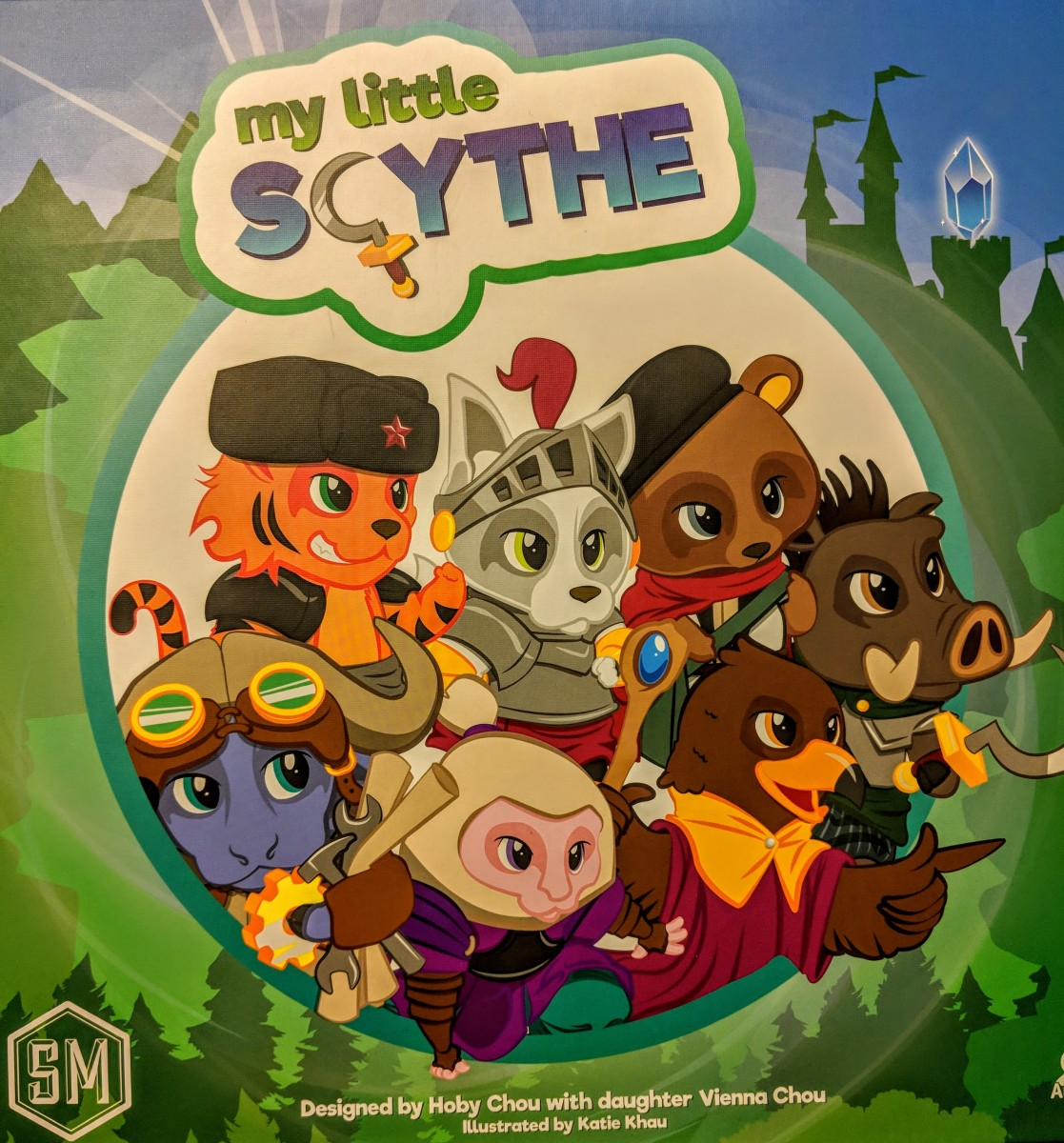 Review of My Little Scythe – The Meeple Street image